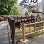 函館公園 木橋