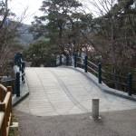 函館公園 石橋・高欄