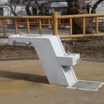 函館公園 水飲み台